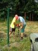 výstavba oplocení fotbalové  hřiště Majdalena
