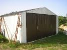 ocelová dvojgaráž 6x6m