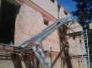 ocelové  schodiště Chlum  u Třeboně