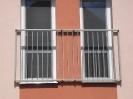 zábradlí před fr. okno Třeboň Holičky
